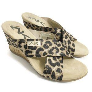 AK Ann Klein Aklorri Wedge Sandals SZ0358